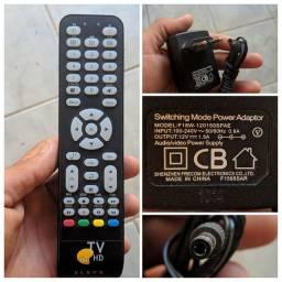 Controle e Fonte Elsys Oi TV