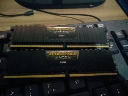 Memória DDR4 Corsair Vengeance LPX 2x 4GB de 3000mhz