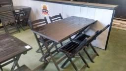 Vendo 10 conjuntos de mesas com 04 cadeiras cada