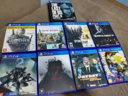 Lote jogos PS4