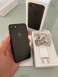iPhone 7 32 preto Completo na Caixa Impecável