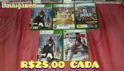 Jogos Originais de Xbox360 Entrega/parcela cartão