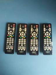 4 controles Net = R$50 TODOS
