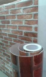 Instalação de papel de parede vinilico
