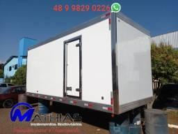 Ref 0981 Baú frigorífico 3/4 gancheira novo a pronta entrega
