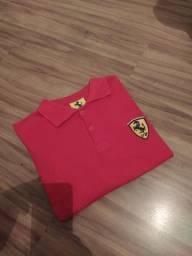 Camiseta polo Ferrari