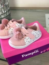 Tênis Pampili para bebês - Tamanho 17