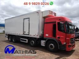 Baú frigorifico 16 p 2018 Maquina de frio diesel e elétrica Caminhão Mercedes 2014