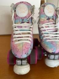Patins patinação artística