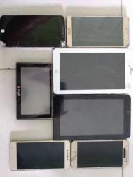 Celular e Tablet (Para retirada de peças)