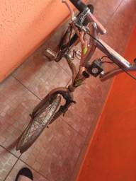 Vendo ou troco bike de alumínio,vem proposta