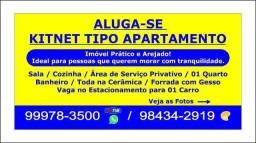 Kitnet - Tipo Apartamento na 606 Sul (Antiga ARSE 62)