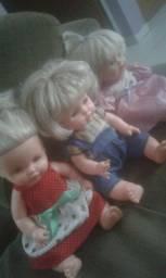 Três bonecas nos preços