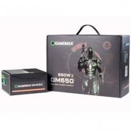 Fonte Gamemax 650w Gm650 - 80 Plus Bronze