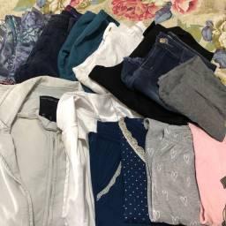 Lote com 24 roupas muitas NOVAS e de MARCA