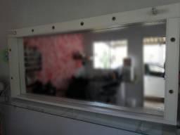 Moldura para espelho tipo camarim