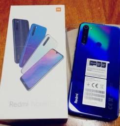 Xiaomi note 8t Azul. Lacrado. Novo. Garantia. Loja física