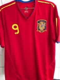Camiseta da seleção da Espanha Original