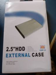 Case para Hd notebook 2.5 externo usb 2.0