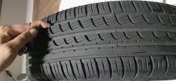 Pneu Pirelli P7 novo 185 60 r15 88H com roda