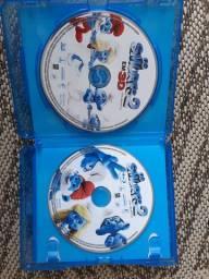 Blu-ray 3D Os Smurfs 2