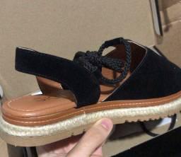 Sandália tratorada tamanho 37
