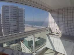 Excelente apartamento 2 dormitórios em frente ao mar. Aviação/Praia Grande. Cod: 3114