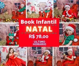 Book de Natal aproveite a promoção Estúdio centro de Porto Alegre