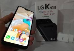 Smartphone LG K41s 32GB + SD Classe 10 32GB / Troco / Parcelo