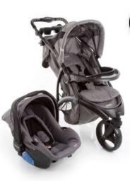 Conjunto carrinho e bebe conforto Infanti