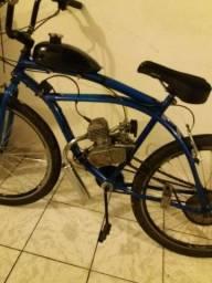 Bicicleta Motorizada Moskito 80cc Semi Nova.