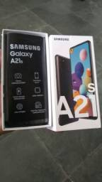 Samsung A21S  Novo na caixa