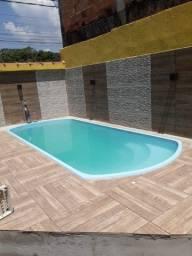 Casa com piscina, Jardim Rio Branco