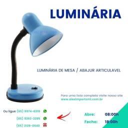 Luminária de Mesa para Manicure Estudo Escritorio Iluminaria Luminador