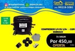 Compressor 1/4 ou 1/4+