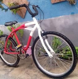 Bicicleta aro 24. Caiçara linda