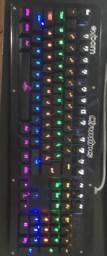 Teclado Mecânico RGB Crining Exbom