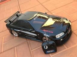 Carro controle remoto GT R34 1:5 Nikko
