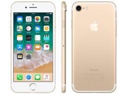 IPhone 7 / 128gb / 1 ano de garantia / Novo / Gold