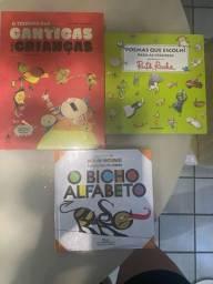 Cantigas Infantis, Bicho Alfabeto, Poemas Que Escolhi Para as Crianças, Novos