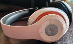 Fone de ouvido bluetooth com microfone balance branco Oex hs301