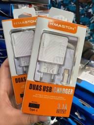 Carregado  DUAS USB CHANGER
