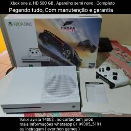 Xbox one s . 500 Gb . Completo