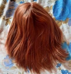 Peruca de cabelo orgânico (NOVA)