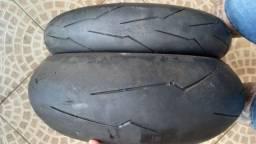 Par de pneus super corsa