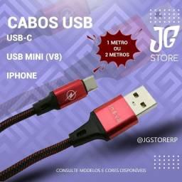 Cabo USB Carregador / Cabo de Dados