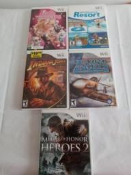 Lote de Jogos Wii Originais