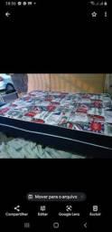 Promoção cama de solteiro de mola , nova