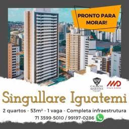 Lançamento - 2 quartos 53m², Residencial Singullare Iguatemi