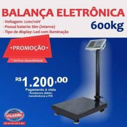 Balança Digital Plataforma 600kg